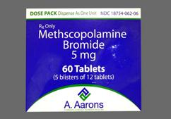 White Oval Tablet A And 062 - Methscopolamine Bromide 5mg Tablet