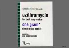 1000 Single Dose Zithromax