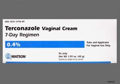 white - Terconazole 7 Day 0.4% Vaginal Cream