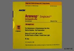 Aranesp Coupon - Aranesp 4 syringes of 60mcg/0.3ml carton