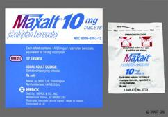 Pink Oblong Tablet Maxalt And Mrk 267 - Maxalt 10mg Tablet
