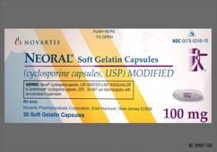 Neoral Coupon - Neoral 100mg capsule