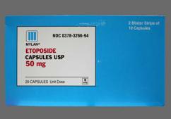 Pink Capsule E50 - Etoposide 50mg Capsule