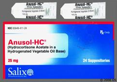 Anusol HC Coupon - Anusol HC 25mg suppository