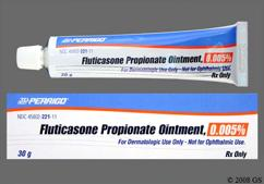 Fluticasone Propionate Coupon - Fluticasone Propionate 30g of 0.005% tube of ointment