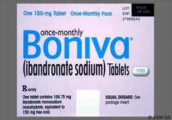 White Oblong Dose Pack 150 And Bnva - Boniva 150mg Tablet