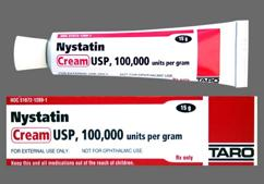 Nystatin Coupon - Nystatin 15g of 100000 units/g tube of cream