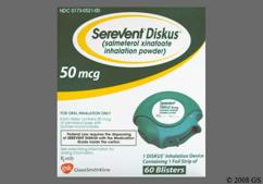 white - Serevent Diskus 50mcg/actuation Powder for Inhalation