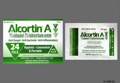 green - Alcortin A 1%-2%-1% Topical Gel