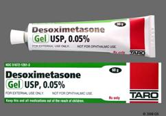 Desoximetasone Coupon - Desoximetasone 60g of 0.05% tube of gel