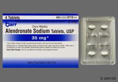 White Oval Dose Pack B 35 And 719 - Alendronate Sodium 35mg Tablet