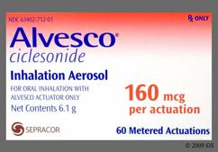 Alvesco Coupon - Alvesco 160mcg inhaler