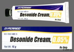 white - Desonide 0.05% Topical Cream