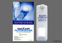 colorless - Maxair Autohaler 0.2mg/actuation Inhalation Aerosol