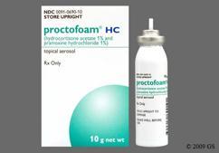 white - Proctofoam HC 1%-1% Rectal Foam