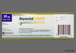 white - Risperdal Consta Long-Acting 50mg Powder for Injection