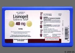 Yellow Round Tablet Lupin And 40 - Lisinopril 40mg Tablet