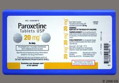 White Round Tablet Zc 16 - Paroxetine Hydrochloride 20mg Tablet