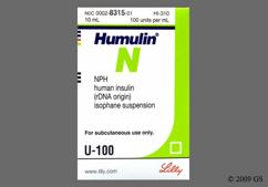 white - Humulin N 100unit/ml Suspension for Injection
