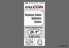 beige - Diclofenac Sodium 0.1% Ophthalmic Solution