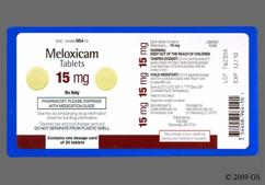Yellow Round Tablet Zc 26 - Meloxicam 15mg Tablet