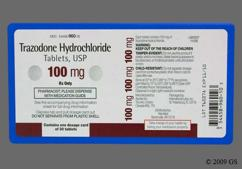 White Round Tablet Apo T100 - Trazodone Hydrochloride 100mg Tablet