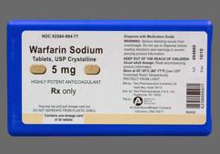 Peach Oblong Tablet Warfarin Taro And 5 - Warfarin Sodium 5mg Tablet