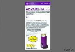 Advair Coupon - Advair 115mcg/21mcg hfa inhaler