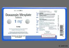 White Round Tablet 093 And Apo - Doxazosin Mesylate 1mg Tablet