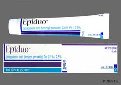 Epiduo Coupon - Epiduo 45g of 0.1%/2.5% tube of gel