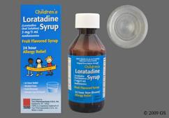 Children's Loratadine Coupon - Children's Loratadine 24 hour bottle of syrup