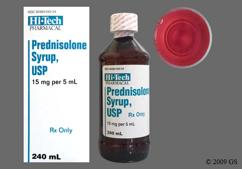 Prednisolone Coupon - Prednisolone 15mg/5ml oral solution