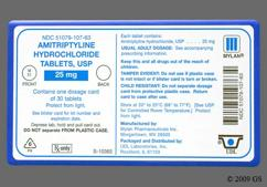 Green Round Tablet M 51 - Amitriptyline Hydrochloride 25mg Tablet