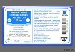 White Round Tablet M77 - Amitriptyline Hydrochloride 10mg Tablet