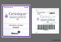 colorless - Gelnique 10% Topical Gel
