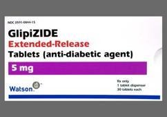 Orange Round Tablet Wpi 844 - Glipizide 5mg Extended-Release Tablet