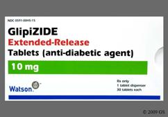White Round Tablet Wpi 845 - Glipizide 10mg Extended-Release Tablet