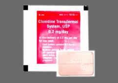 Tan Modified Rectangle Carton B 1010 - Clonidine 0.2mg/24hr Transdermal System