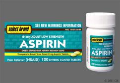 Coated Aspirin Brand Names