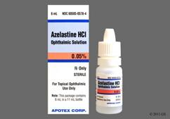 Azelastine Coupon - Azelastine 6ml of 0.05% eye dropper