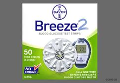 Bayer Breeze 2 Coupon - Bayer Breeze 2 test strip