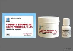 Clindamycin / Benzoyl Peroxide Coupon - Clindamycin / Benzoyl Peroxide 50g of 1%/5% jar of gel