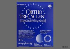 Blue Round Package O 250 And 35 - Ortho Tri-Cyclen 28-Day Tablet