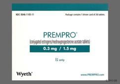 Prempro Coupon - Prempro 28 tablets of 0.3mg/1.5mg package