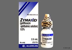 yellow - Zymaxid Ophthalmic Solution