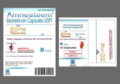 Red-Brown And White Capsule I20 - Amnesteem 20mg Capsule