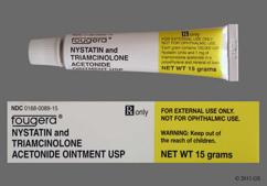 yellow - Nystatin/Triamcinolone Acetonide 100000unit/g-0.1% Topical Ointment