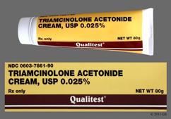 triamcinolone 1 cream side effects