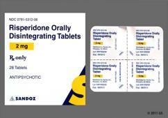 Pink Round Orally Disintegrating Tab Sz Z4 - Risperidone 2mg Orally Disintegrating Tablet