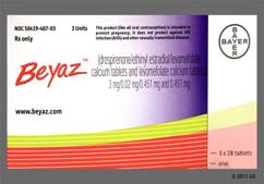 Beyaz Coupon - Beyaz 28 tablets package